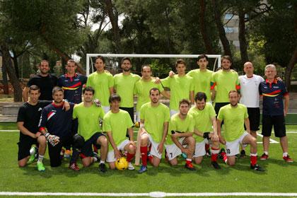 Foto Selección española de fútbol para ciegos