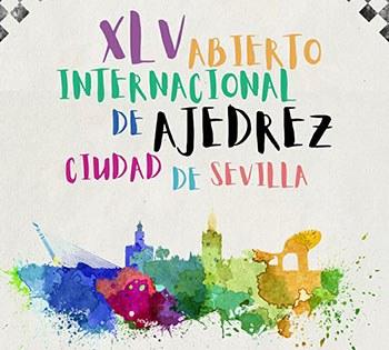Cartel Open Internacional Ajedrez en Sevilla 2020