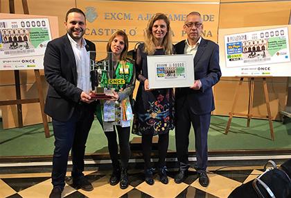 Presentacion del cupón dedicado a Castellon segunda ciudad accesible de la UE