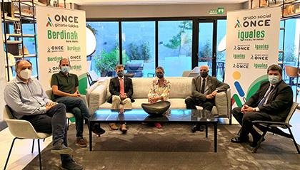 Foto del Jurado de los Premios Solidarios ONCE Euskadi 2021