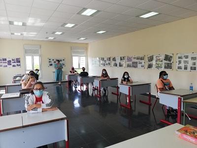 Participantes en el curso de inglés de Pontevedra