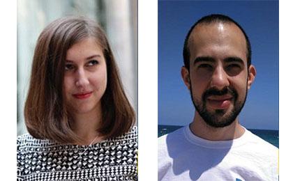 Sandra Timón y Javier García Pajares