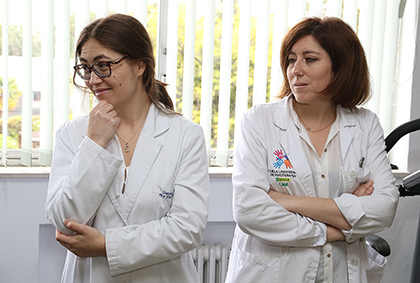 Susana García (izquierda) e Irene Rodríguez