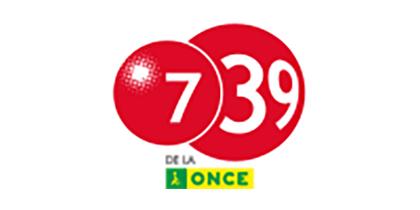 Logotipo del 7/39 de la ONCE