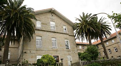 Fachada del CRE de la ONCE de Pontevedra