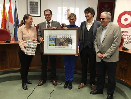 Presentación del cupón dedicado a las Bodegas Subterráneas de Aranda de Duero
