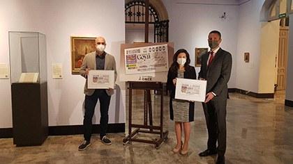 Presentación del cupón dedicado al 275 aniversario del nacimiento de Goya