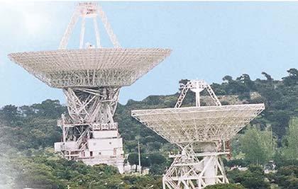 Antenas de la Estación Espacial de Robledo de Chavela