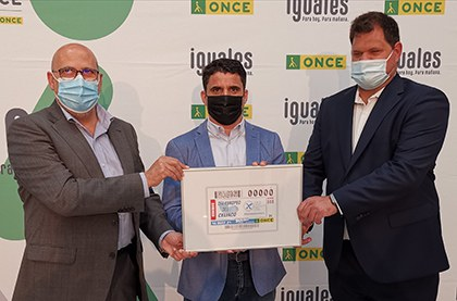 Presentación, en Canarias, del cupón de la ONCE dedicado al Día Europeo del Celiaco