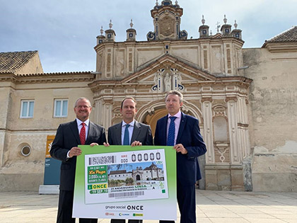 Presentación del cupón dedicado al 25 aniversario de la Universidad Internacional de Andalucía