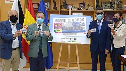 Presentación del cupón dedicado al Mercado de Ceuta