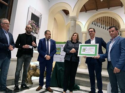 Presentación del cupón dedicado al 150 aniversario de la Banda Municipal de Música de Pozoblanco