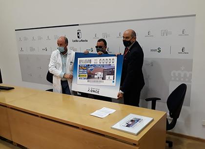 Presentación del cupón dedicado al Hospital de Ciudad Real