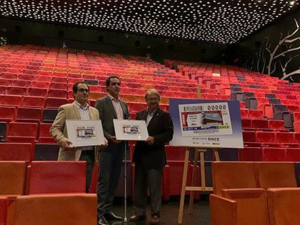 Presentación del Cupón dedicado al Teatre de la Llotja de Lleida