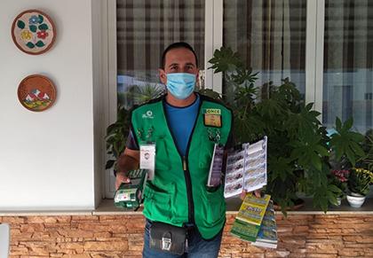 Pedro Antonio Morata, vendedor del Sueldazo en Antas