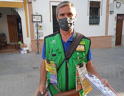 José Sánchez, vendedor que ha dado un  Sueldazo en Gines