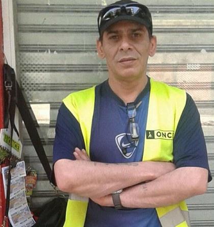 José Sánchez Herrero vendedor de la ONCE que ha repartido casi 11 millones con el Cuponazo