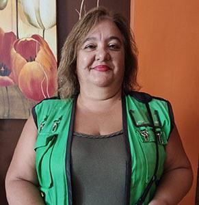 Olga María, vendedora de la ONCE que ha repartido el Cuponazo