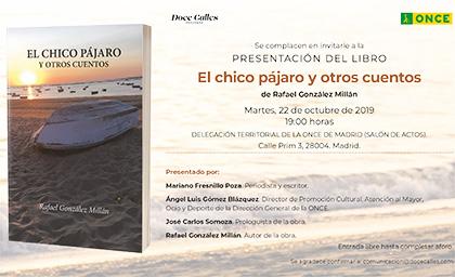 Invitación a la presentación de libro el martes 22 de octubre
