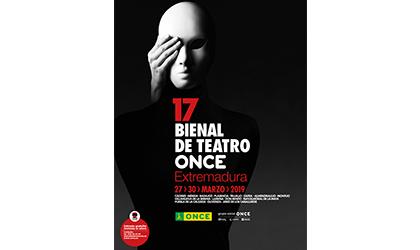 Cartel 17 BIenal de Teatro ONCE