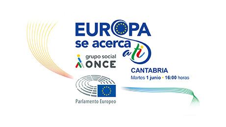Cartel Europa se acerca a ti en Cantabria