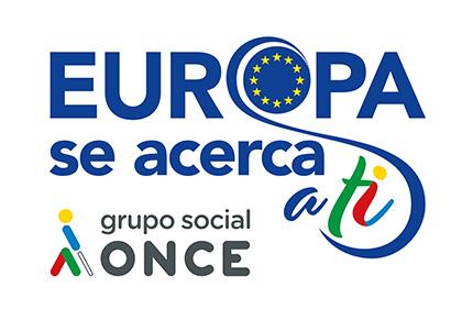 Logotipo Europa se acerca a ti