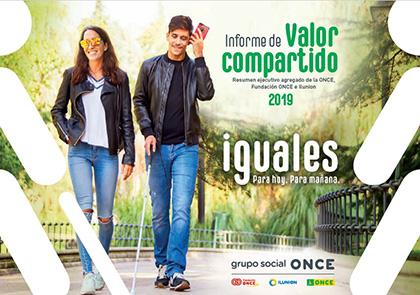 Portada Informe Valor Compartido Grupo Social ONCE 2019