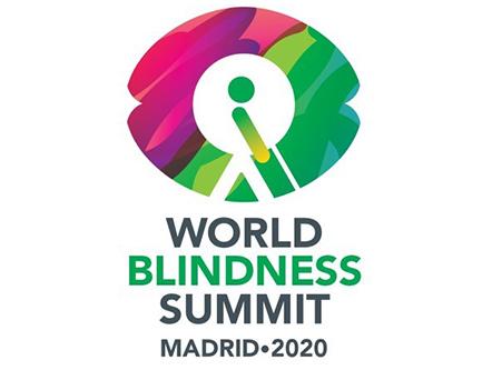 Logo de World Blindness Summit Madrid 2020