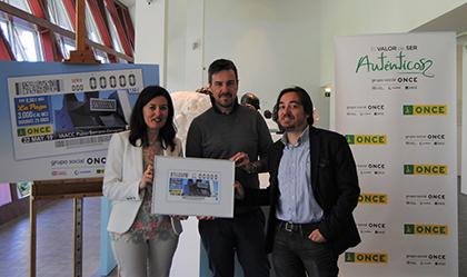 Presentación del cupón dedicado al Instituto Aragonés de Arte y Cultura Contemporáneos Pablo Serrano