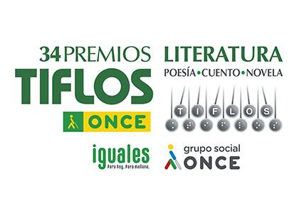 Cartel de los 34 Premios Tiflos de Literatura