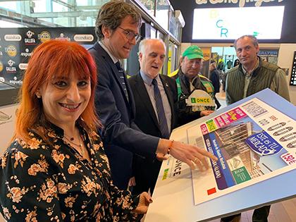 Presentación del cupón dedicado al Mercado de Abastos de Vitoria-Gasteiz