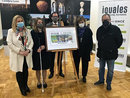 Presentación del cupón dedicado al Museo Numantino