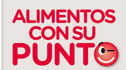 Imagen del eslogan 'Alimentos con su punto'