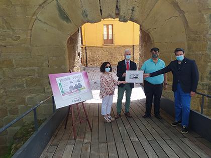 Presentación del cupón dedicado al V Centenario del Sitio de Logroño