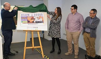 Presentación del cupón de la ONCE dedicado al Vilamuseu