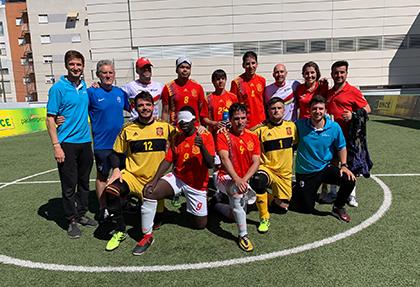 Equipo de España EN EL IV Campeonato Internacional de Fútbol Ciegos