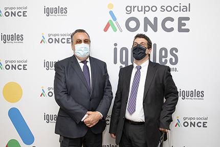 Miguel Carballeda y Rodrigo Santos