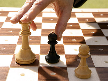 Tablero de ajedrez adaptado a personas ciegas