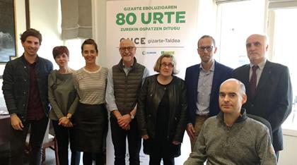 Foto de familia del jurado de los Solidarios Euskadi 2018
