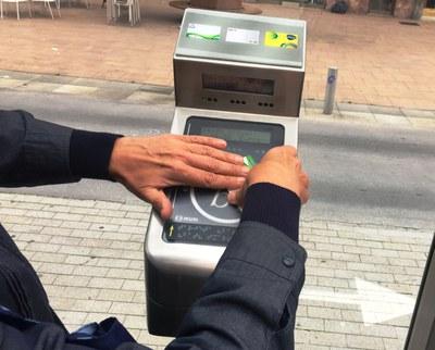 Accesibilidad en el transporte público alavés