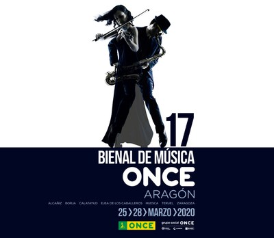 Cartel 17 Bienal de Música ONCE