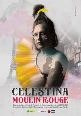 Cartel de Jacaranda11, obra Celestina Moulin Rouge