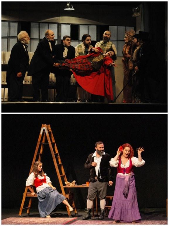 Collage La Luciérnaga y Muxicas