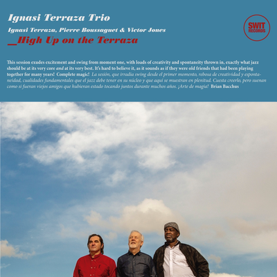 "Portada CD de Ignasi Terraza ""High up on the terraza"""