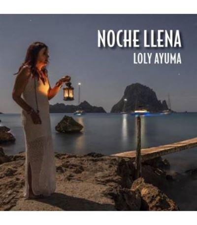 Portada del disco 'Noche llena' de Loly Ayuma