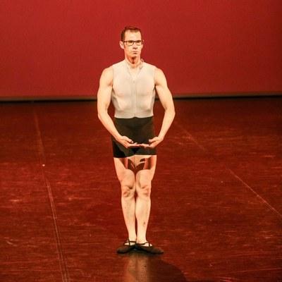 Teo Marco, bailarín sordociego