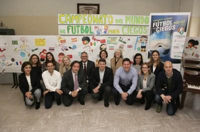 Firma del convenio FEDC- Colegio Sagrado Corazón