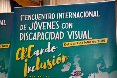 Lema del I Encuentro de jóvenes ciegos europeos