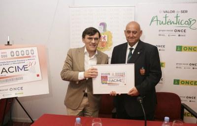 Presentación cupón del 27 de agosto dedicado a ACIME