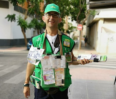 Vendedores con suerte: Ginés Pérez , 350.000 euros en Almería 11/07/19